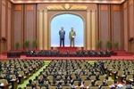 Mít tinh ủng hộ các quyết sách của đảng Lao động Triều Tiên