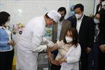 Hải Dương: Ngày đầu tiên tiêm vaccine phòng COVID-19