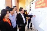 Đoàn công tác của Hội đồng Bầu cử quốc gia kiểm tra công tác bầu cử tại Cao Bằng