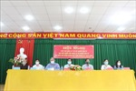 Ứng cử viên đại biểu Quốc hội tiếp xúc cử tri tại Bến Tre, Trà Vinh