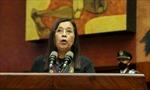 Đại diện cộng đồng thổ dân bản địa được bầu làm Chủ tịch Quốc hội Ecuador