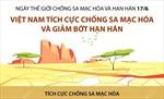 Việt Nam tích cực chống sa mạc hóa và giảm bớt hạn hán