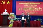 Ông Phan Việt Cường tái đắc cử Chủ tịch HĐND tỉnh Quảng Nam