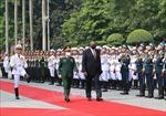 Bộ trưởng Phan Văn Giang đón, hội đàm với Bộ trưởng Quốc phòng Mỹ Lloyd Austi