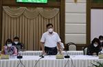 Thứ trưởng Bộ Y tế yêu cầu Tổ công tác thành lập ngay 3 nhóm hỗ trợ tại tỉnh Đồng Tháp