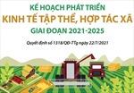 Kế hoạch phát triển kinh tế tập thể, hợp tác xã giai đoạn 2021-2025