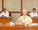 Bộ Chính trị cho ý kiến về tình hình kinh tế - xã hội