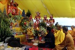 Lễ cầu an trên đê sông Lục Đầu