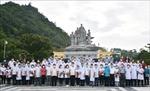 40 bác sĩ, nhân viên y tế Hà Giang lên đường hỗ trợ TP Hồ Chí Minh chống dịch