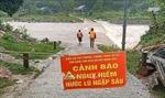 Bộ đội Biên phòng giúp dân ở biên giới ứng phó với mưa lũ