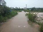 Mưa lớn gây sạt lở, ngập úng nhiều nơi tại Đắk Nông