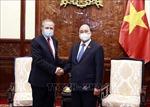 Chủ tịch nước Nguyễn Xuân Phúc tiếp Đại sứ Algeria chào từ biệt