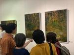 Triển lãm lần thứ 5 của nhóm họa sĩ 'Sơn ta Việt Nam' phát huy bản sắc dân tộc