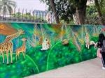 Ra mắt bức tranh tường với chủ đề vì môi trường
