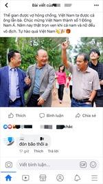 Những dòng 'còm' đầy cảm xúc của cộng đồng mạng về chiến thắng của U22 Việt Nam