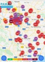Hà Nội thuộc top thành phố ô nhiễm nhất thế giới, không khí vượt mức nguy hại