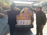 Thu giữ 1.800 chai sữa chua nghi nhập lậu