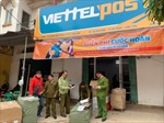 Phát hiện 220 đôi giày thể thao không có hóa đơn chứng từ tại điểm giao nhận của Viettel
