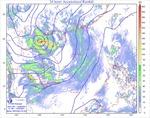 Vùng áp thấp nhiệt đới suy yếu từ bão số 2 đã vào Thanh Hóa, gây mưa lớn