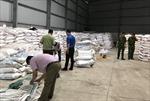 Bình Dương thu giữ gần 250 tấn đường cát nhập lậu