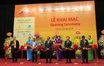 Khai mạc triển lãm Quốc tế ngành dệt may