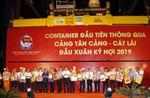 Tân cảng Sài Gòn phấn đấu 'cán đích' 5 triệu TEU hàng container năm 2019