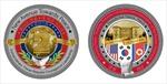 Ra mắt đồng xu 'Hòa bình' in hình Phủ Chủ tịch Việt Nam nhân dịp Hội nghị Thượng đỉnh Mỹ-Triều Tiên lần 2