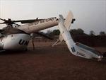 Trực thăng của Lực lượng gìn giữ hòa bình LHQ rơi ở Nam Sudan