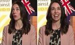 Thủ tướng New Zealand vẫn bình tĩnh trả lời phỏng vấn khi động đất