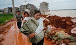 Trên 400 con sông tại Trung Quốc bị tràn bờ