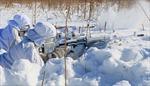 Lính bắn tỉa Nga luyện tập ở nơi có nền nhiệt -35 độ C