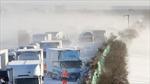 Video vụ tai nạn đâm liên hoàn 130 ô tô tại Nhật Bản