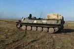 Xe tăng quân đội Nga tập trận tại Crimea