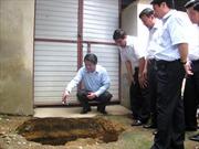 Di dời gấp những hộ bị sụt lún tại Phú Thọ