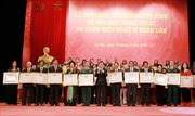 Trao giải thưởng Hồ Chí Minh về VHNT và danh hiệu NSND