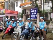 Chuyện về đội xe ôm nhân ái ở thành phố Việt Trì