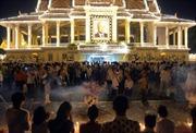 Hỏa táng cựu Vương Norodom Sihanouk vào 2/2013