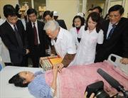 Tổng Bí thư Nguyễn Phú Trọng chúc mừng các thầy thuốc Việt Nam