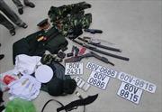 Nổ súng tiêu diệt đối tượng trốn 5 lệnh truy nã