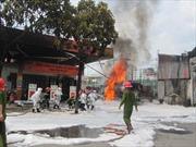 Khẩn trương điều tra nguyên nhân vụ cháy cây xăng Quân đội
