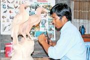 Nghệ thuật điêu khắc Khmer