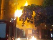 Cháy lớn tại Nhà hát múa rối Thăng Long
