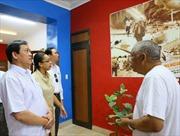 Đoàn Mặt trận Tổ Quốc Việt Nam thăm và làm việc tại Cuba