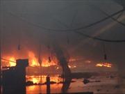 Chùm ảnh vụ cháy tại Nhà máy Diana, Bắc Ninh