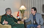 Thúc đẩy hợp tác quốc phòng Việt-Hàn đi vào chiều sâu