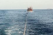 Cứu hộ an toàn tàu cá cùng 12 ngư dân gặp nạn