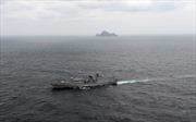 Hải quân Hàn, Mỹ, Anh tập trận chung