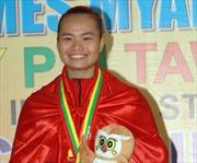 'Cô gái vàng' của làng Pencak Silat Việt Nam