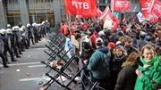Hàng nghìn người biểu tình phản đối chính sách khắc khổ của EU