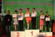 Giải giao lưu khiêu vũ thể thao mở rộng 2013